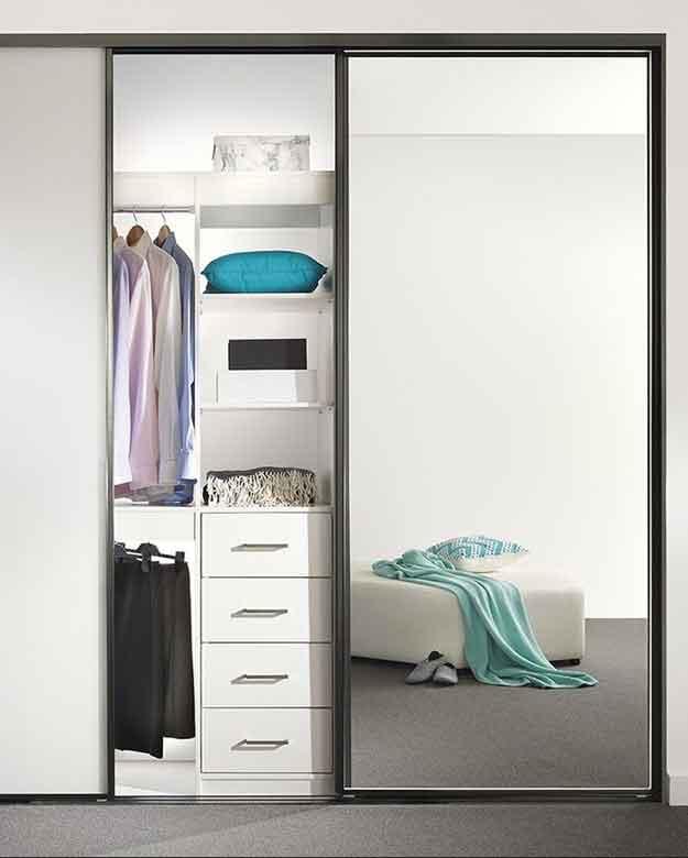 Mirror Sliding Doors Illawarra, Small Mirrored Wardrobe With Sliding Doors